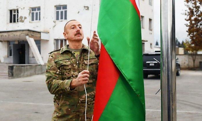 Ильхам Алиев посетил Нагорный Карабах.
