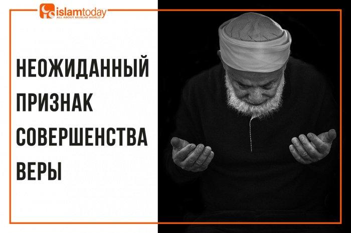 Неожиданный признак совершенства веры. (Источник фото: freepik.com)