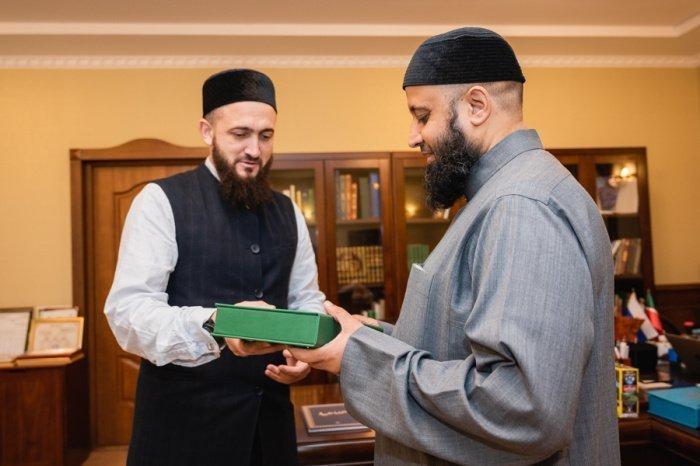Камиль Самигуллин встретился с муфтием Абу-Даби.