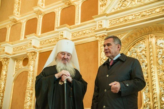 Президент РТ выразил соболезнования в связи с кончиной митрополита Феофана.