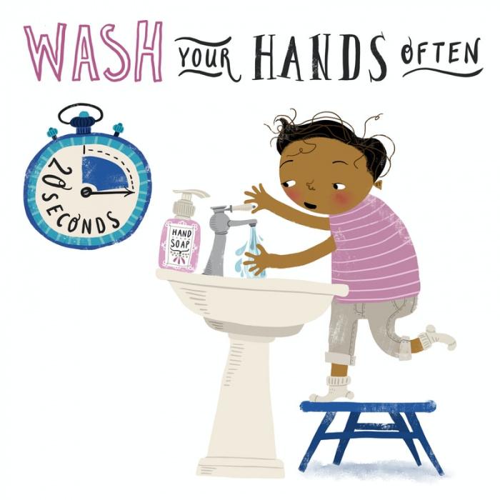 Роспотребнадзор также напомнил о поощрении регулярного мытья рук