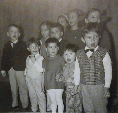 Детский хор. Вечер посвященный татарскому национальному поэту Габдулле Тукаю, Банкетный зал Hospiz Emmaus, 1967 год. Из книги Муаззез Байбулат
