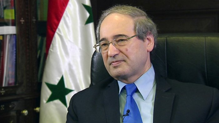 Фейсал Микдад - новый глава МИД Сирии.