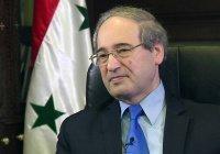 Башар Асад назначил нового главу МИД Сирии