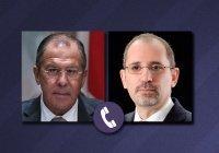 Лавров провел переговоры с главой МИД Иордании