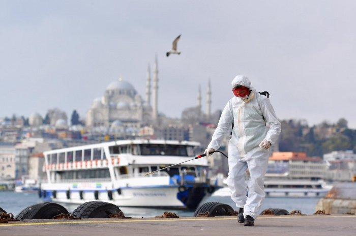Коронавирус значительно сократил доходы Турции от туризма.