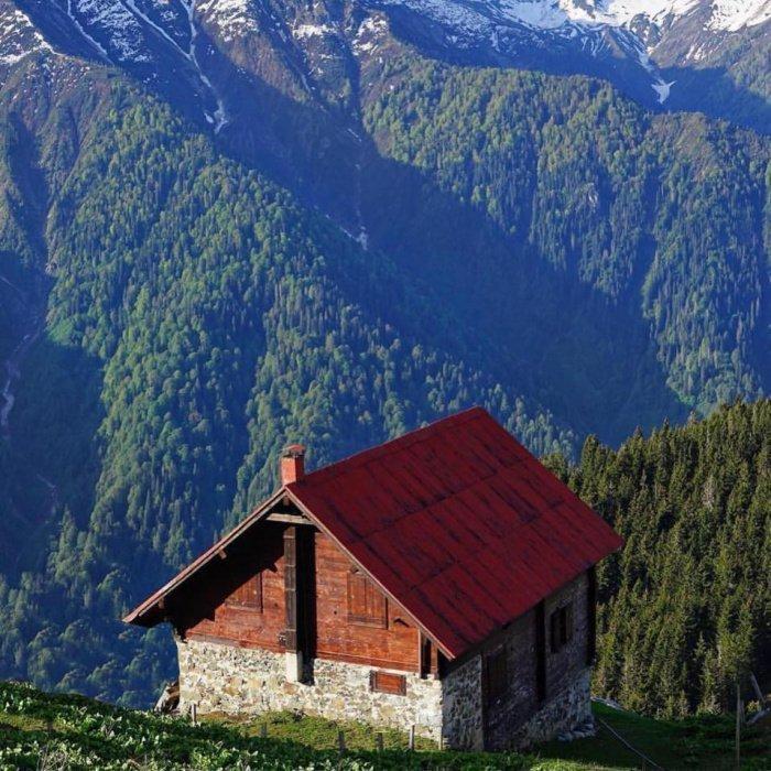 Большинство хемшинских деревень разположено высоко в горах