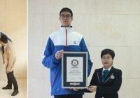 Найден самый высокий в мире подросток