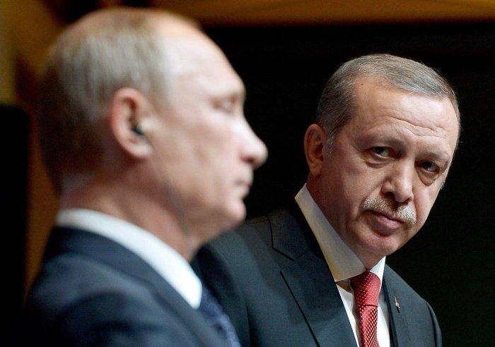 Лидеры России и Турции догооврились о дальнейшей координации по всем направлениям сотрудничества.