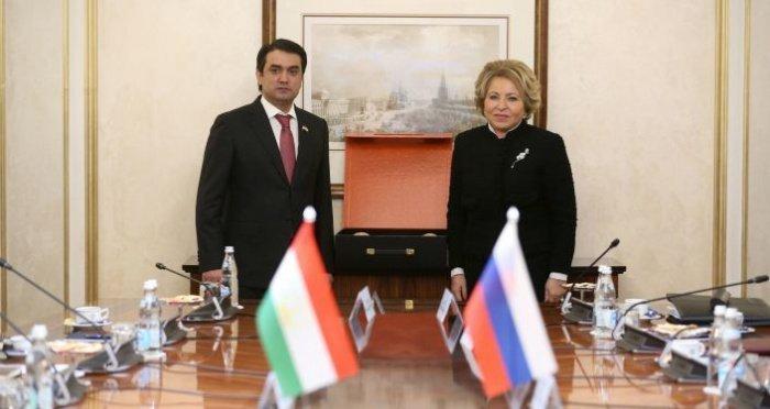 Встреча двух спикеров прошла в Москве.
