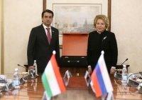 Матвиенко: Россия и Таджикистан – стратегические партнеры