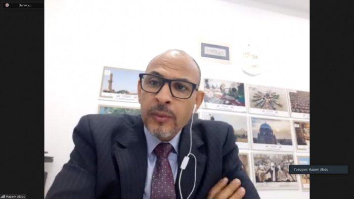 глава департамента международных отношений Союза новостных агентств ОИС Хазем Абду