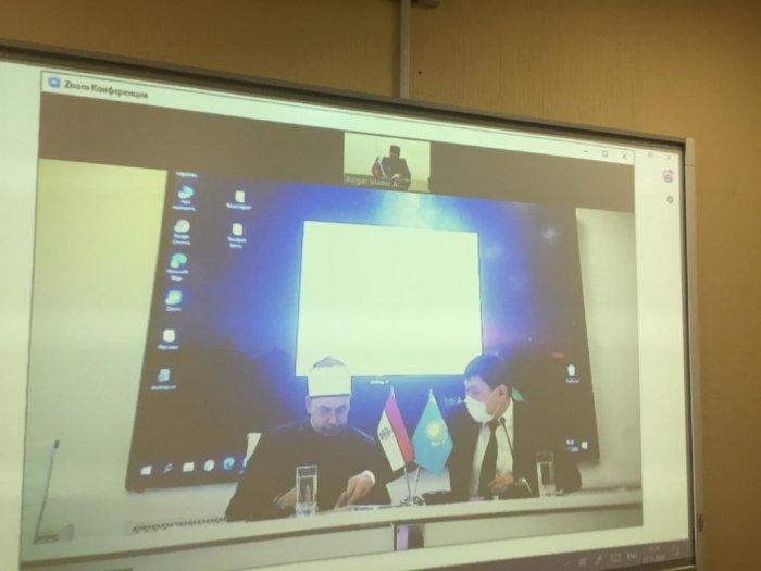 Ректоры БИА и казахстанского вуза подписали соглашение о сотрудничестве.