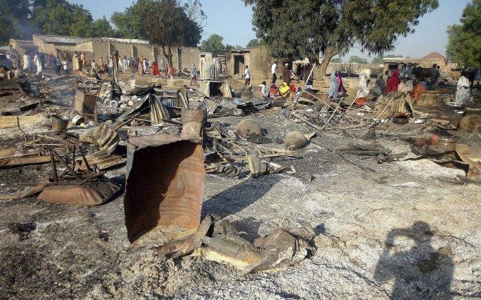 Боевики напали на мирных жителей в Нигерии.