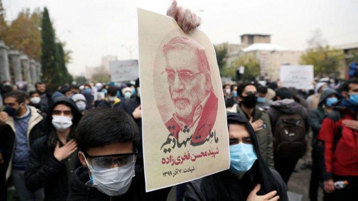 В Иране проходят акции памяти известного физика-ядерщика.
