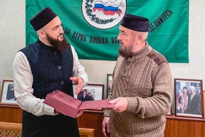 Камиль хазра Самигуллин с Нафигуллой хазратом Ашировым.