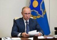 Путин: Россия и Таджикистан продолжат сдерживать террористические угрозы