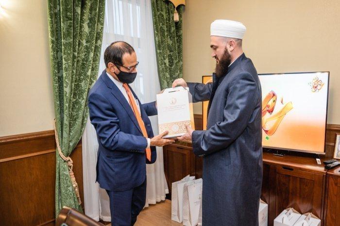 Камиль Самигуллин на встрече с Али Рашидом Аль Нуайми.