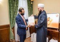 Муфтий РТ встретился с председателем Всемирного совета мусульманских общин