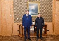 Минниханов обсудил с послом Узбекистана сотрудничество в условиях пандемии