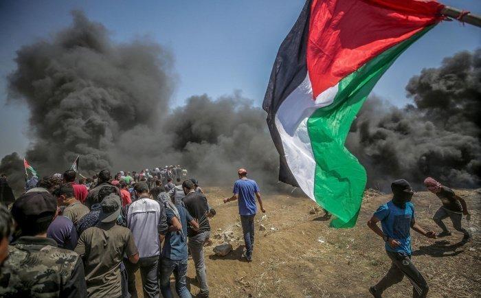 Десятки палестинцев пострадали в столкновениях с израильской армией.