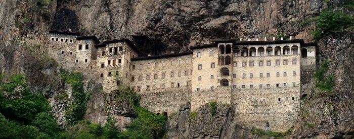 Греческий монастырь Сумела. Трабзон