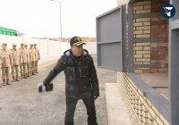 Бердымухамедов открыл новую печь по сжиганию наркотиков (Видео)