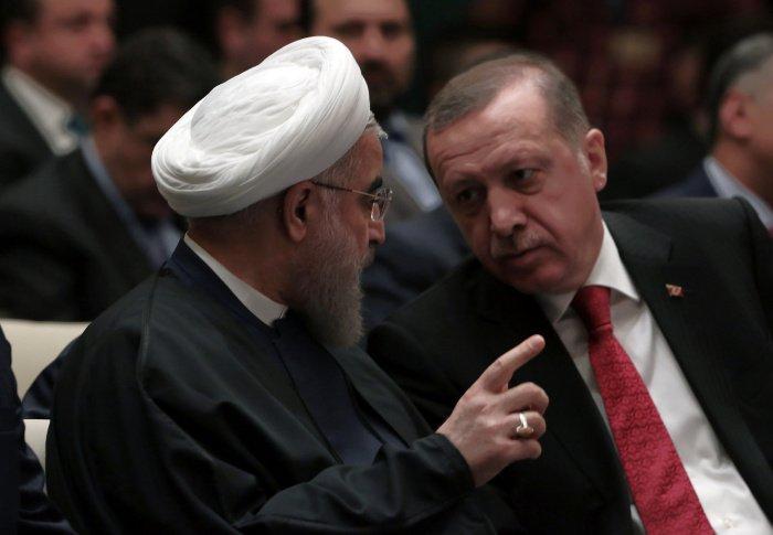 Эрдоган и Роухани обсудили сотрудничество двух стран.