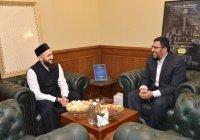 Муфтий встретился с новым преподавателем БИА Али Махди Османом
