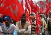Грандиозная забастовка в Индии