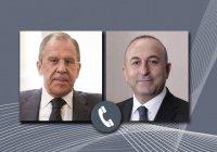 Лавров и Чавушоглу обсудили ситуацию в Карабахе
