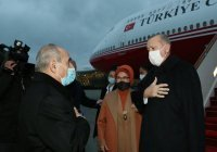 Эрдоган прибыл в Баку для участия в «параде победы»