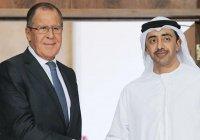 Главы МИД России и ОАЭ встретятся в Москве