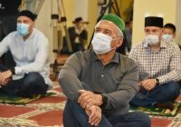 Рустам Минниханов открыл после реставрации старейшую в Татарстане каменную мечеть