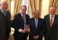 Богданов представил свою книгу о сотрудничестве России с Египтом