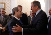 Лавров проведет переговоры с новым главой МИД Сирии