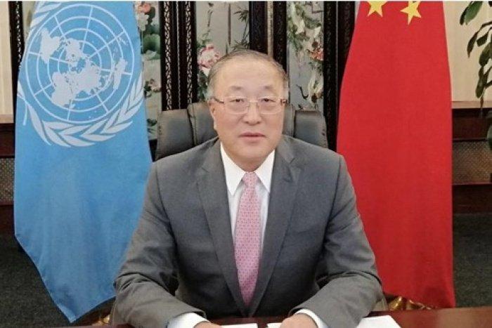 Посол КНР в ООН Чжан Цзюн (Источник фото: chnun.chinamission.org.cn)