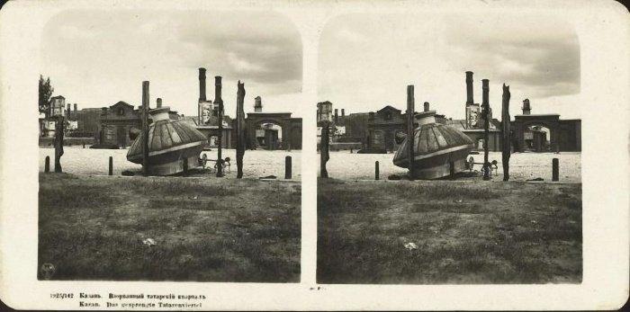 Татарский квартал (предположительно махалля Барудия). Пороховая слобода после катастрофы 1917