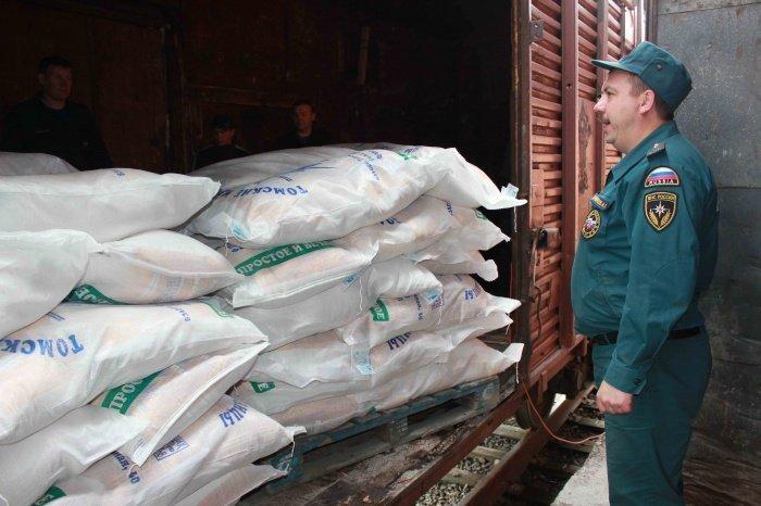 Россия продолжает оказывать гуманитарную помощь Нагорному Карабаху.