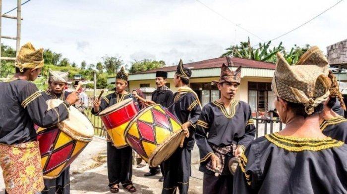 Свадебные торжества у минангкабау