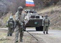 Российские саперы обезвредили 6 тысяч взрывоопасных предметов в Карабахе