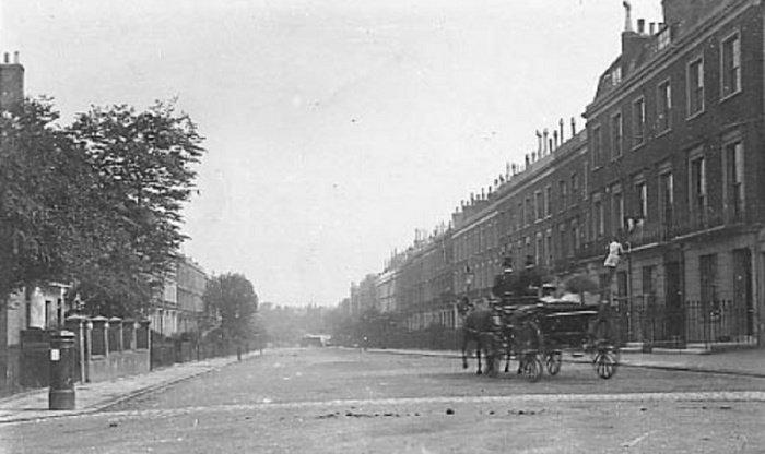 Историческое фото. Улица Альберт