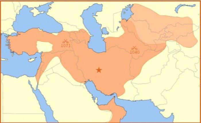 Империя Сельджуков в 1092 году