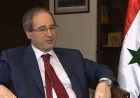 Глава МИД Сирии оценил российское военное присутствие