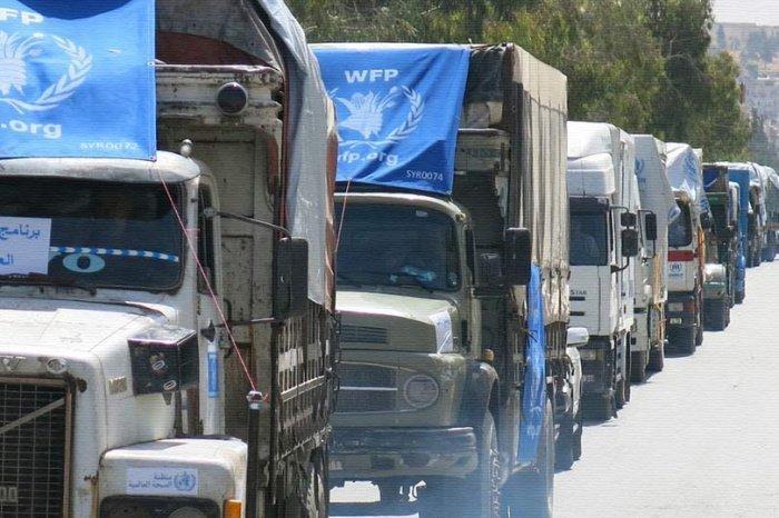 Российские военные продолжают оказывать Сирии помощь по линии ООН.