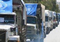 В 2020 году Россия направила в Сирию более 650 гуманитарных конвоев