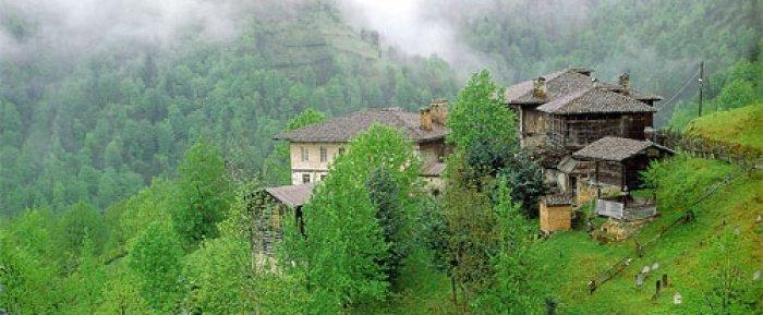 Традиционные дома понтийцев