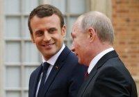 Путин и Макрон обсудили Карабах и Ближний Восток