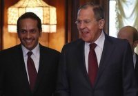 Лавров: Россия рассчитывает на укрепление связей с Катаром во всех сферах
