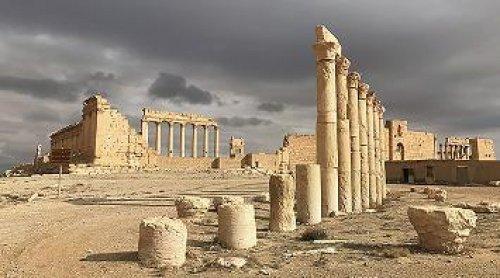 Развалины античной Пальмиры